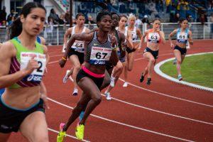 profesjonalny bieg, biegaczki, wyścig